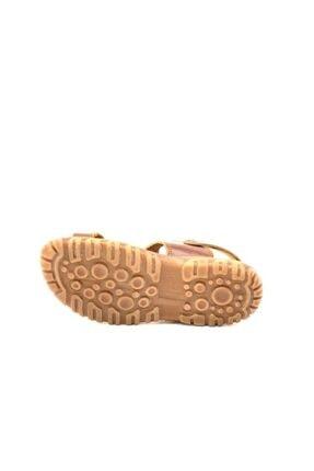 Toddler Erkek Çocuk Kahverengi Hakiki Deri Sandalet 2356 3
