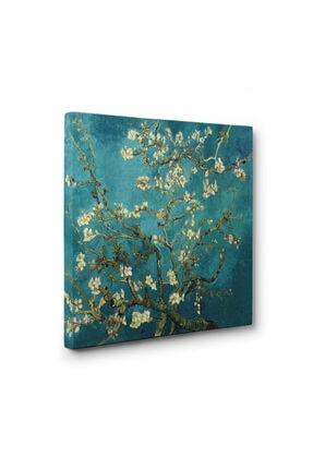 Dekoratif Market 100 X 100 Cm - Çiçek Açan Badem Ağacı - Vincent Van Gogh 0