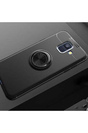 Dijimedia Samsung Galaxy J6  Kılıf Yüzüklü Standlı Araç Magnet Tutucu Destekli Kapak 0