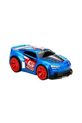 Sunman Sesli Ve Işıklı Glo Racer Çek Bırak Araba 18 cm 0