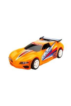 Sunman Sesli Ve Işıklı Glo Racer Çek Bırak Araba 18 cm 1