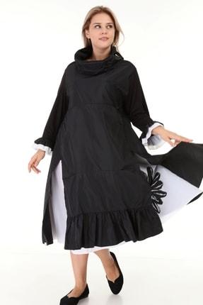تصویر از پیراهن سایز بزرگ زنانه کد 1498