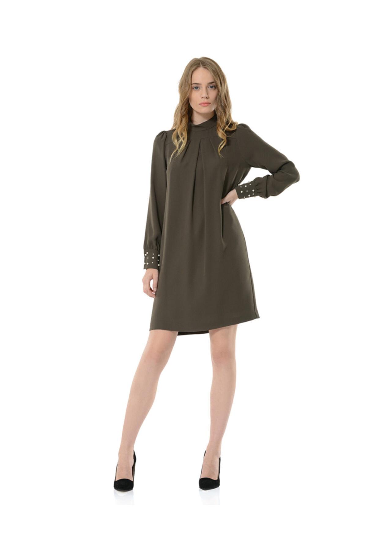 Kadın Haki Collette Elbise