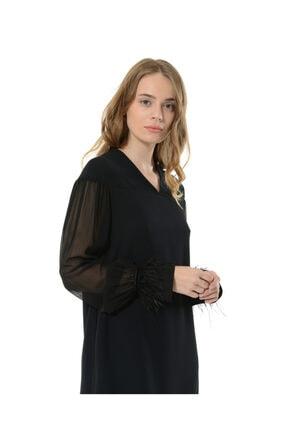 BİRELİN Kadın Siyah Elbise 1