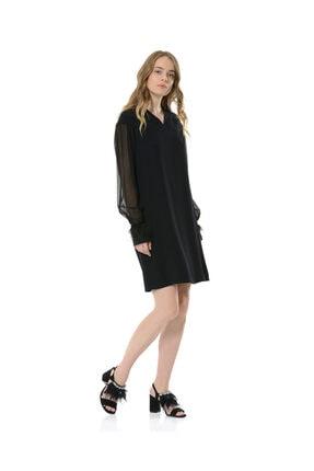 BİRELİN Kadın Siyah Elbise 3