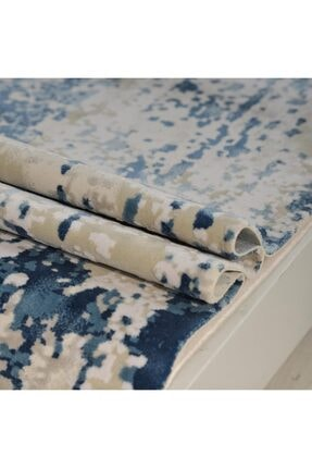 Emka Halı Mavi Bamboo Halı 1