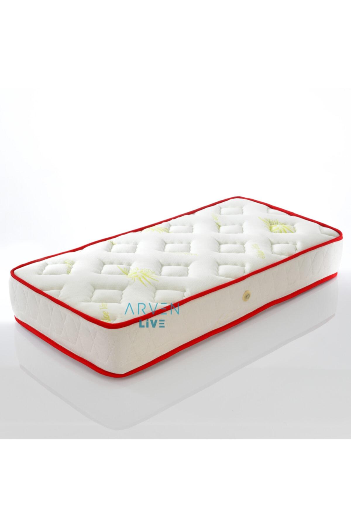 Unisex Beyaz Ortopedik Natural Çocuk Yatağı 60x120 cm