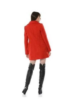 BİRELİN Kadın Kırmızı Adore Kaban 4