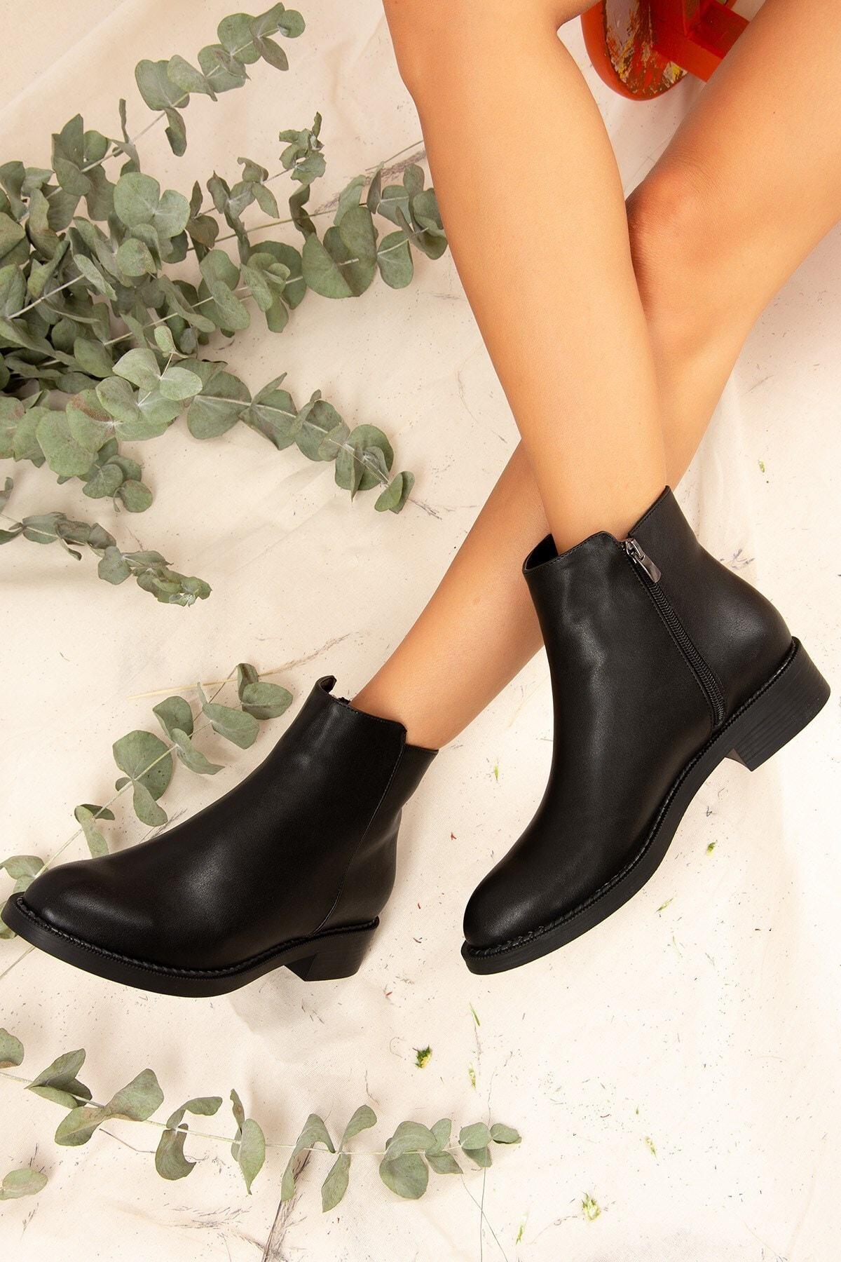 Fox Shoes Beyaz Kadın Bot
