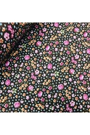 daisy star 170 Cm Eninde Çiçekli Poplin Kumaş 0