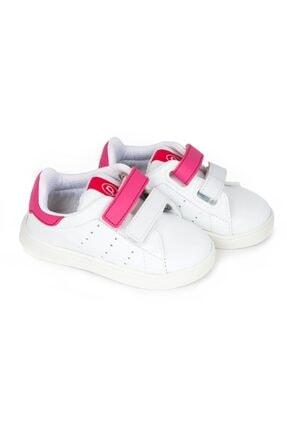تصویر از Kız Çocuk Beyaz Tam Ortopedik İlk Adım Ayakkabı