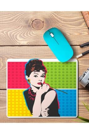 MET DESİGN Audrey Hepburn Mouse Pad Mousepad 0