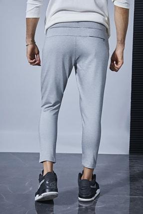 Sateen Men Erkek Gri Jogger Pantolon 3