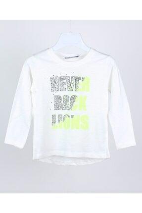 Jack Lion Acklions Erkek Bebek Neon Baskılı Sweatshirt 0
