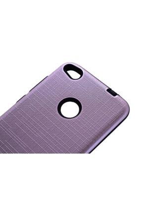 Dijimedia Huawei P9 Lite 2017 Kılıf New Youyou Silikon Kapak Mor 1