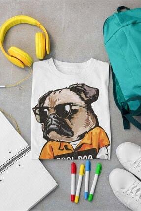 pierbypier Havalı Karizmatik Kelepçeli Suçlu Köpek Dijital Baskılı Funny Dog T-Shirt 2