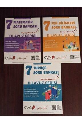 Kva Yayınları Kva Yay 7 Türkçe Matematik Fen Soru Seti 0