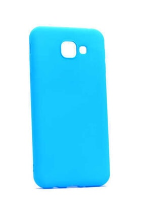 Dijimedia Galaxy A8 2016 Mavi Premier Silikon Kılıf 0