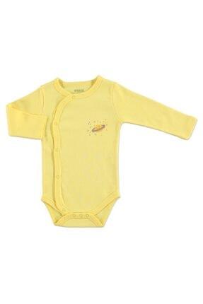HelloBaby Yaz Erkek Bebek Uzun Kol Zıbın Body 0