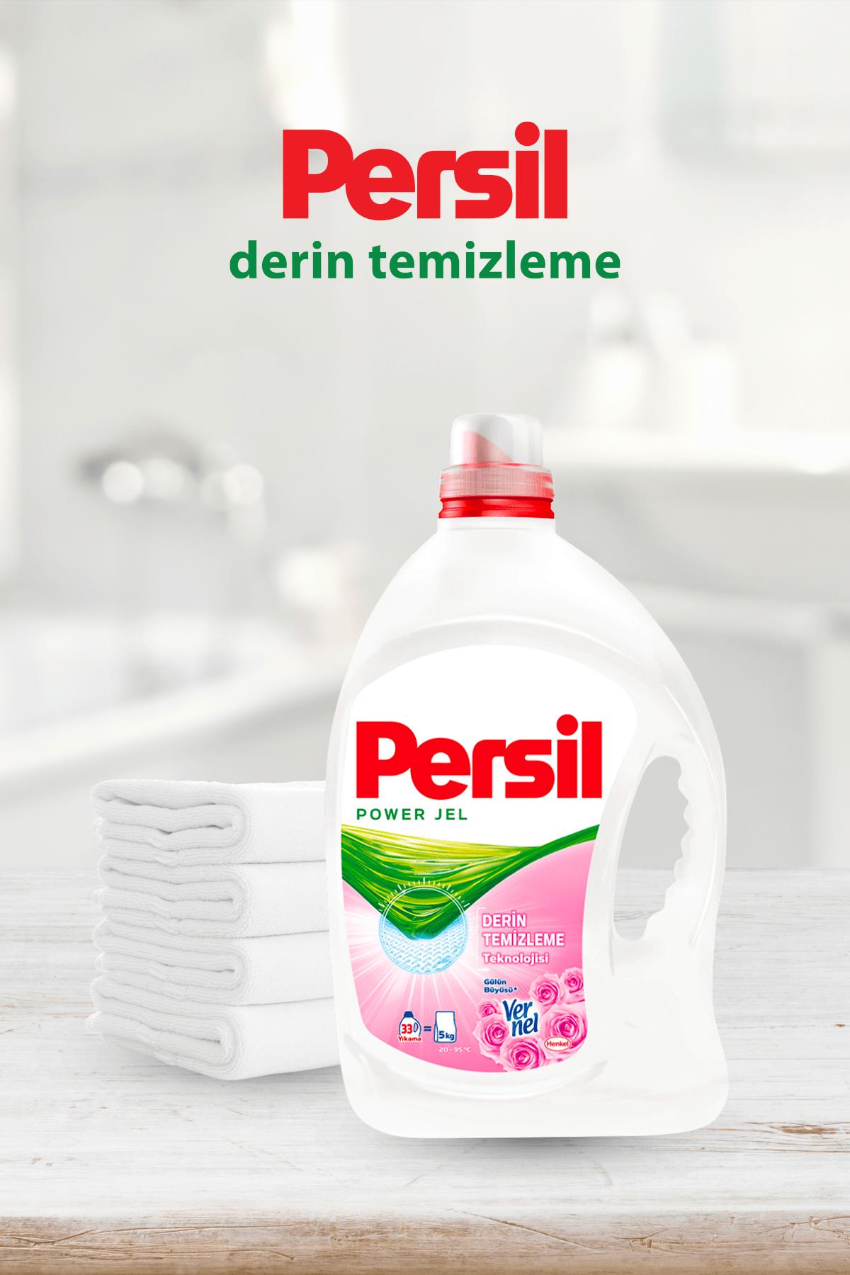 Persil Jel Sıvı Çamaşır Deterjanı, 1 Gülün Büyüsü + 2 Color 33 Yıkama 3'lü Set 1