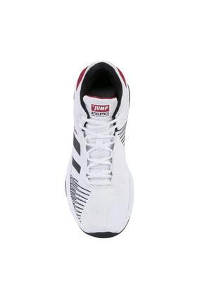 Jump Erkek Beyaz Siyah Bilekli Basketbol Ayakkabısı 2