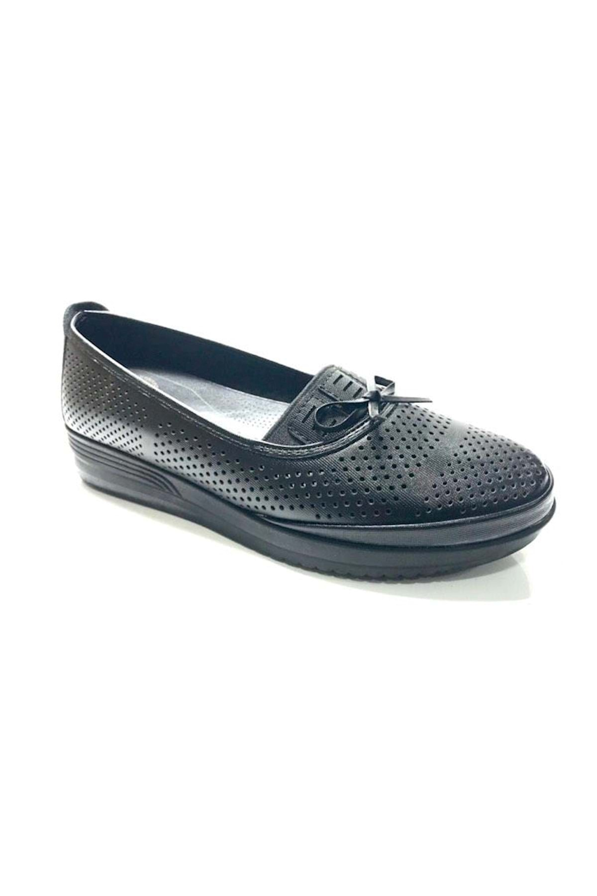 Wanetti Kadın Siyah Ayakkabı