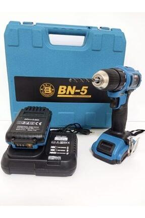 BN5 Banco Bn-5 24 V 5 Ah Hd Li-on Lityum Çift Akülü Şarjlı Matkap Seti 1