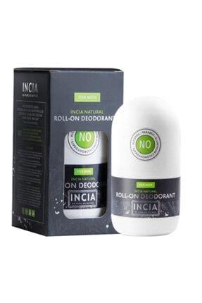 INCIA Doğal Roll-on Deodorant 50 Ml / Erkekler Için 0