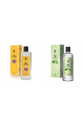 Rebul Lavanta + Lime 270 Ml Cam Şişe Set 0