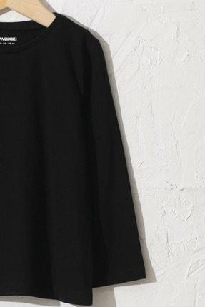 LC Waikiki Kız Çocuk Yeni Siyah Cvl T-Shirt 2
