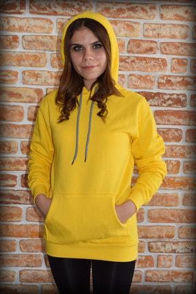 YGMR Fashion Kadın Sarı Sweatshirt Gknyellow321 1