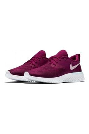 Nike Kadın Mor Odyssey React 2 Flyknit Spor Ayakkabısı 2