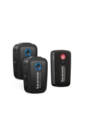 Saramonic Blink 500 B2 | Tx+tx+rx | 2 Konuşmacılı Kablosuz Yaka Mikrofonu 0