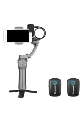Saramonic Blink 500 B2 | Tx+tx+rx | 2 Konuşmacılı Kablosuz Yaka Mikrofonu 2
