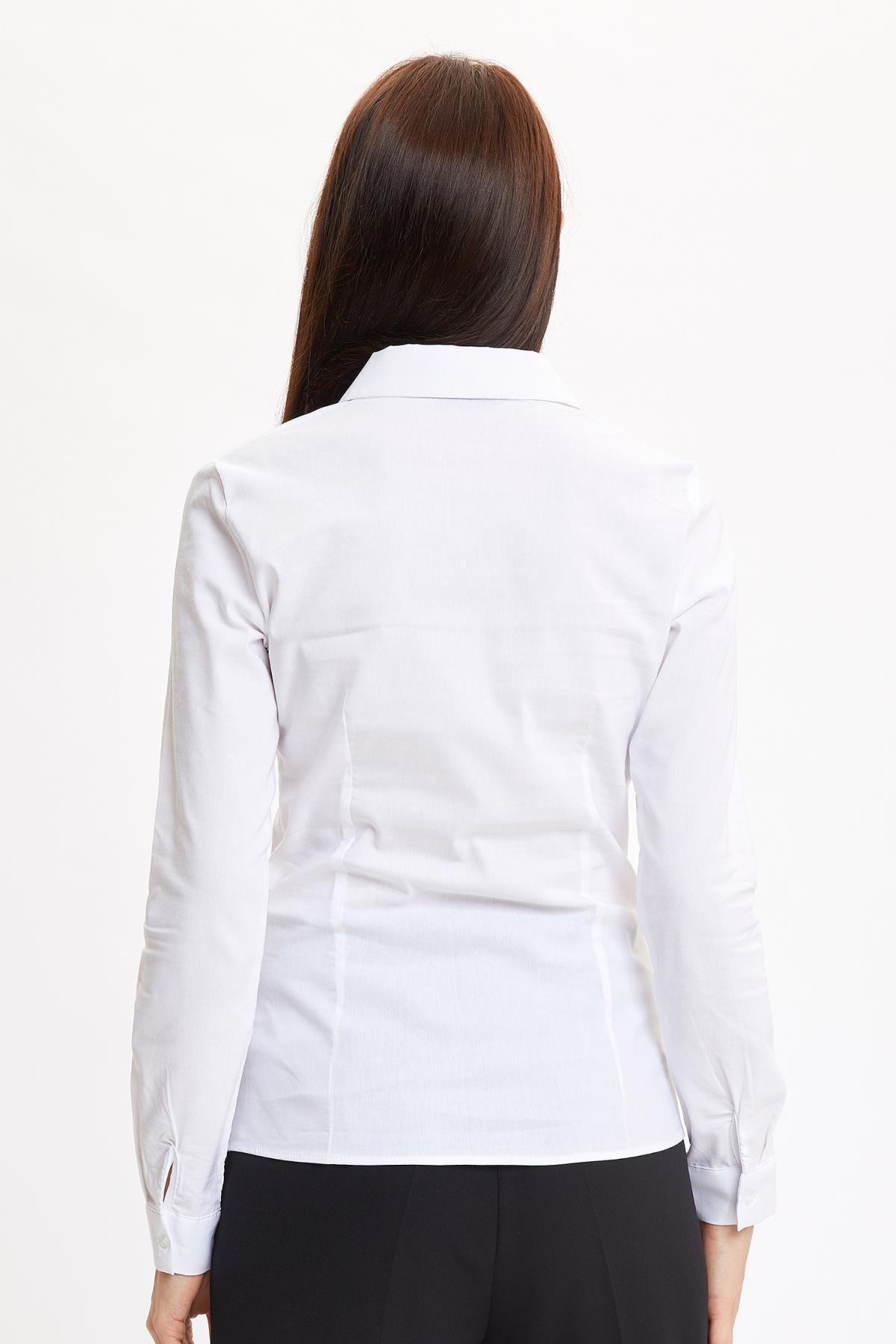 Defacto Basic Uzun Kollu Slim Fit Gömlek 2