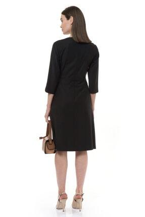 BİRELİN Kadın Siyah Elbise 2