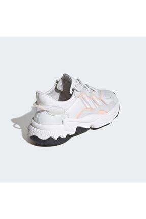 adidas Unisex Beyaz Ozweego J Spor Ayakkabı 4