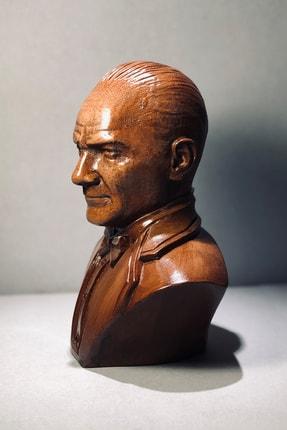Ahşap Mustafa Kemal Atatürk Büst Biblo 1