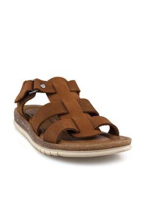Cici Bebe Ayakkabı Erkek Çocuk Kahverengi Sandalet 1