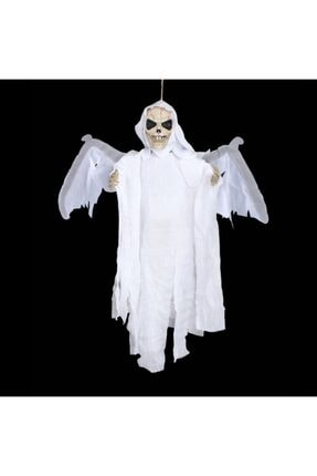 Ricardo Halloween Kanat Çırpan Kurukafa Beyaz 2