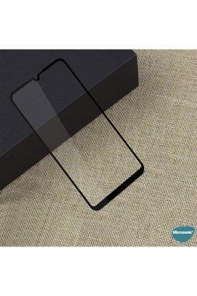 Microsonic Huawei P Smart 2020 Tam Kaplayan Temperli Cam Ekran Koruyucu Siyah 1