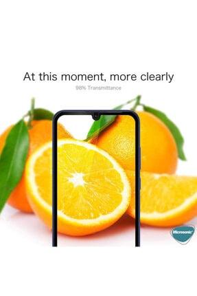 Microsonic Huawei P Smart 2020 Tam Kaplayan Temperli Cam Ekran Koruyucu Siyah 3