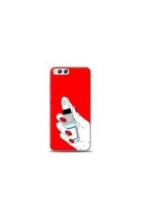Kılıf Madeni Xiaomi Mi 6 Sprey Kırmızı Koleksiyon Telefon Kılıfı 0