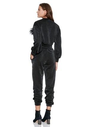 Keikei Kadın Siyah Düz Uzun Pantolon 1
