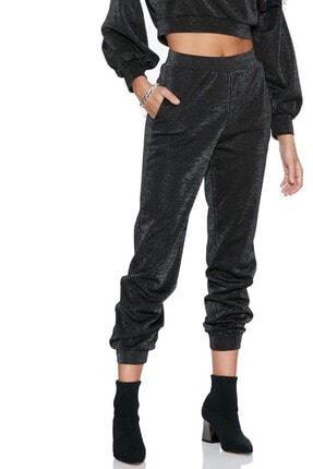 Keikei Kadın Siyah Düz Uzun Pantolon 2