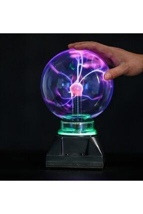 gkcShops Tesla Işıklı Plazma Sihirli Küre Hediye 0