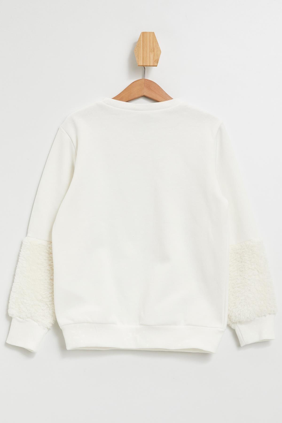 Defacto Kız Çocuk Frozen Lisanslı  Sweatshirt 2