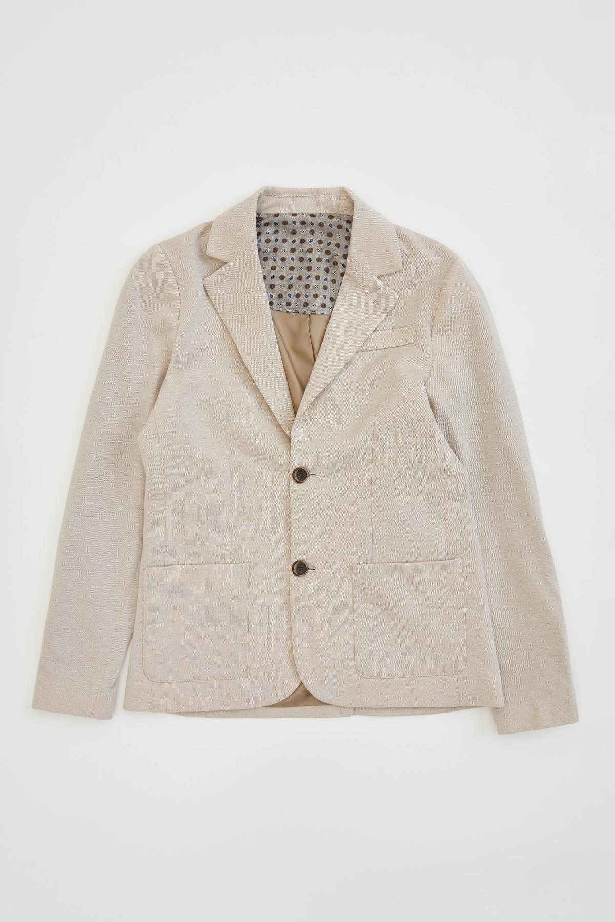 Defacto Erkek Çocuk Blazer Ceket 2