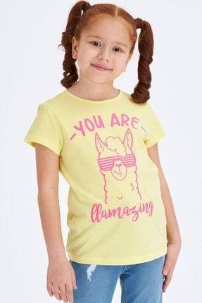 Defacto Baskılı Kısa Kollu T-shirt 0