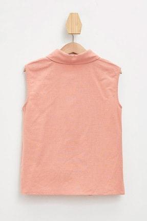 Defacto Kız Çocuk Bağlama Detaylı Kolsuz Gömlek 4